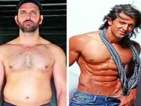 Hrithik roshan body transformation - YouTube