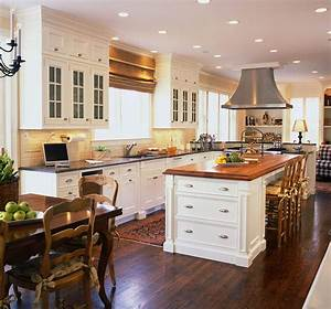 traditional, kitchen, designs, and, elements, -, theydesign, net