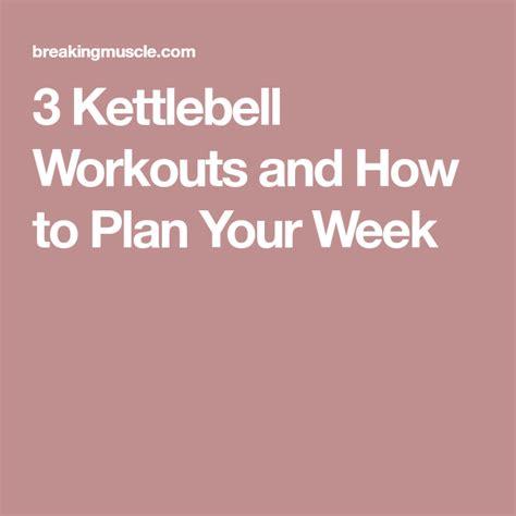 kettlebell workouts workout plan week shoulder routine upper