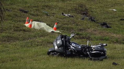Fatal Motorcycle Crash At Exit To Glades Road Snarls
