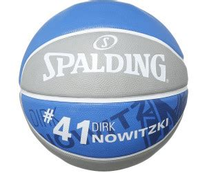 spalding nba player ball dirk nowitzki ab