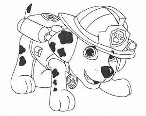 PATRULLA CANINA para colorear y pintar Paw Patrol