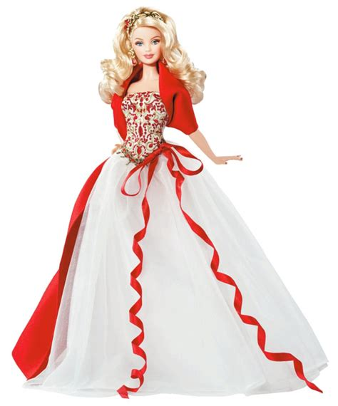 doll collectors 2010 holiday barbie