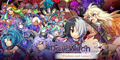 The Legend Of Dark Witch 3 Wisdom And Lunacy  Programas Descargables Nintendo 3ds Juegos