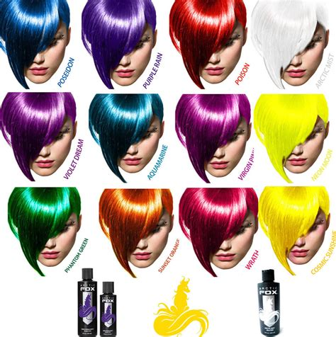 Hair Dye by Arctic Fox 4oz Or 8oz Vegan Semi Permanent Hair Dye