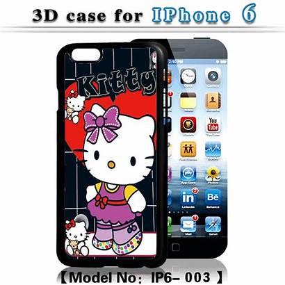 Visual Phone Kitty Hello Effect Case Cartoon