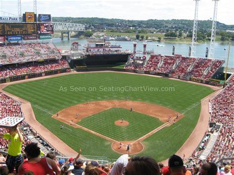 Great American Ball Park, Cincinnati Oh  Seating Chart View