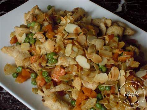 plats rapides à cuisiner poulet aux amandes chine la tendresse en cuisine