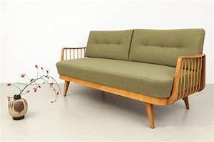 Sofa 50er Jahre : magasin m bel kleines 50er jahre schlafsofa 585 ~ Markanthonyermac.com Haus und Dekorationen