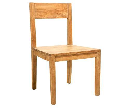 chaises teck chaise en teck