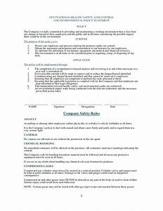 health and safety plan generic With environmental health and safety plan template