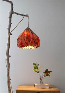 Easy Diy Pendant Light With Beautiful Origami Lampshade