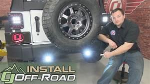 Jeep Wrangler Jk Kc Hilites Led Backup Light Kit C