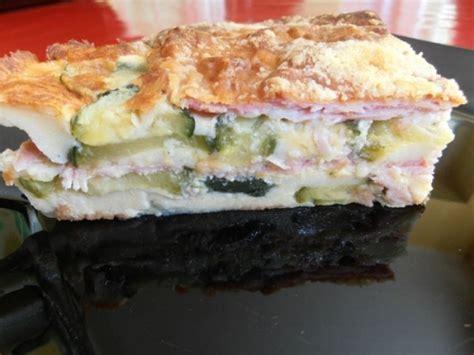 recettes de cuisine thermomix recette clafoutis de courgettes au jambon au thermomix ou