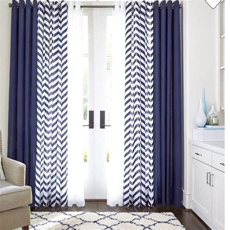 best 25 navy blue curtains ideas on blue and white curtains navy and white