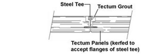 tectum deck bulb tees tectum i plank tile ctd and tectum iiip tectum inc