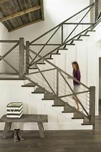 Rampe Pour Escalier : moderniser rampe escalier bois yj35 jornalagora ~ Melissatoandfro.com Idées de Décoration