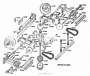 Dixon Ztr 308  1979  Parts Diagram For Transaxle Assembly