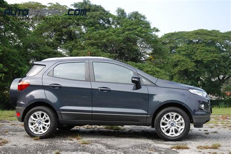 test ford ecosport test drive review ford ecosport 1 5 titanium lowyat net