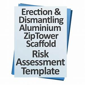 download risk assessement erection and dismantling tower With scaffolding risk assessment template