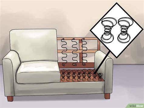 ressort canapé comment réparer un canapé qui s 39 affaisse 14 é