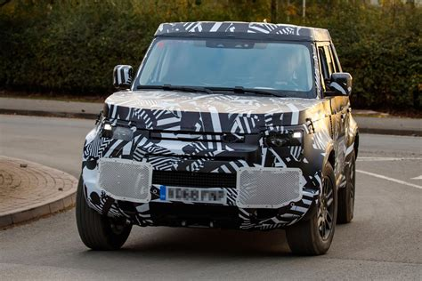 New Land Rover 2020 by New Land Rover Defender Pictures Reveal Updated Interior