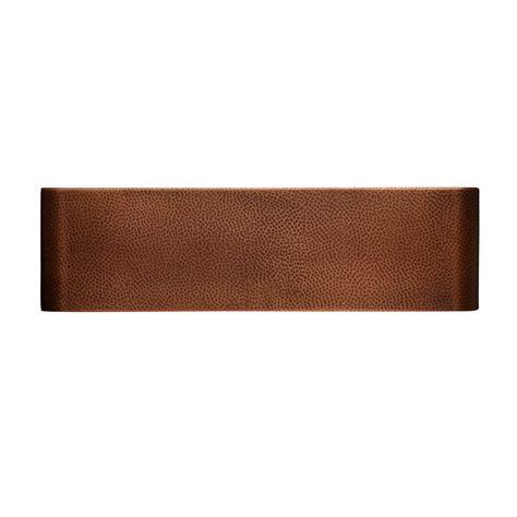 signature hardware  fiona  farmhouse single basin copper copper ebay