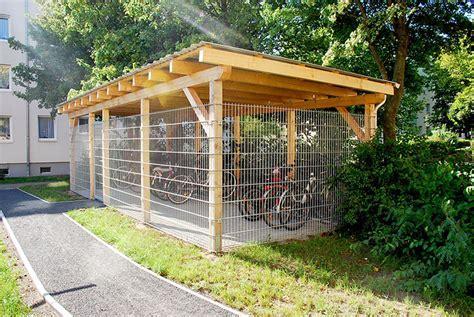 Carportbau aus Holz in Stralsund von galant GmbH