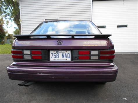 Dodge Shadow Turbo by 1989 Dodge Shadow Es Turbo Classic Dodge Shadow 1989 For