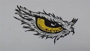 How to draw Eagle Eye - YouTube