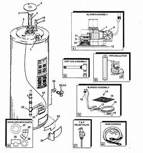 Ao Smith Fpcr50260e Gas Water Heater Parts