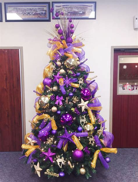 purple and gold top for tree tree decorations purple and gold billingsblessingbags org