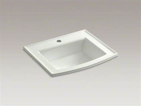 Kohler Archer(r) Drop-in Bathroom Sink With Single Faucet