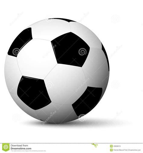 foto de Pallone da calcio semplice illustrazione vettoriale