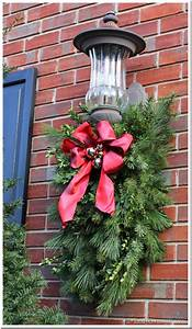 diy christmas porch light decoration in my own style With decorating outdoor garage lights for christmas
