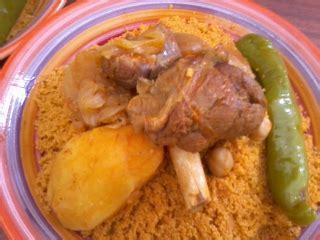 recette cuisine couscous tunisien couscous à l 39 agneau plat recette tunisienne