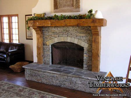 Fireplace Mantel Legs - hewn douglas fir mantel corbels legs pits