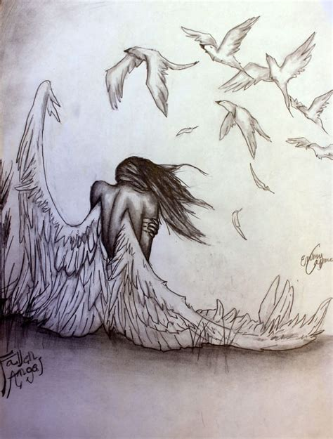 Best 20+ Angel Drawing Ideas On Pinterest  Angel Sketch