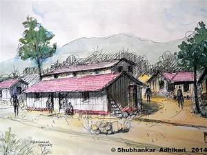 Artworks by Shubhankar Adhikari