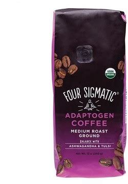 Brew four sigmatic adaptogen coffee when life gets stressful. Four Sigmatic Adaptogen Coffee With Ashwagandha & Tulsi 340 gram | Tulsi (Holy Basil ...