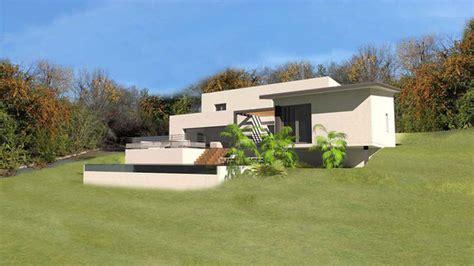 plan de maison sur terrain en pente plans de maisons d architecte