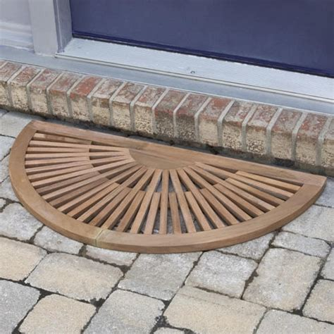 Half Circle Doormat by Half Doormat Setting For Home The Decoras