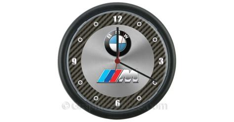 Bmw And The M Tech M Sport Logo's Wall Clock