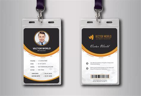 design  customized  professional id card