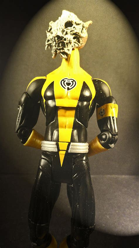 custom color corp yellow sinestro lantern corp customs the toyark news