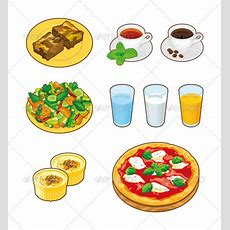 Foods & Drinks By Eightbit Graphicriver