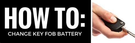 change  battery   toyotas key fob