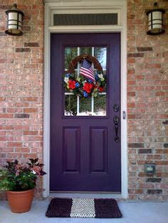 1000 images about purple entry doors on
