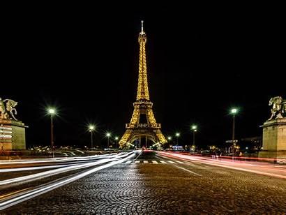 Paris Tower Eiffel Night Laptop France Traffic