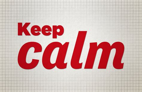 trick  mind  stay calm  stage